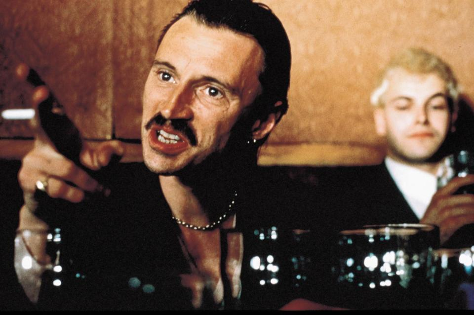 Robert Carlyle interpretó a Begbie en la Trainspotting original
