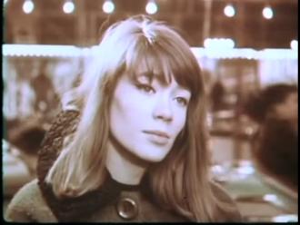 video de Francoise Hardy en el scopitone de Tous les garcons et les filles